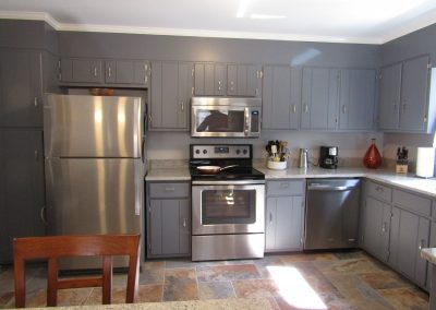 Contemporary Gray Cabinets