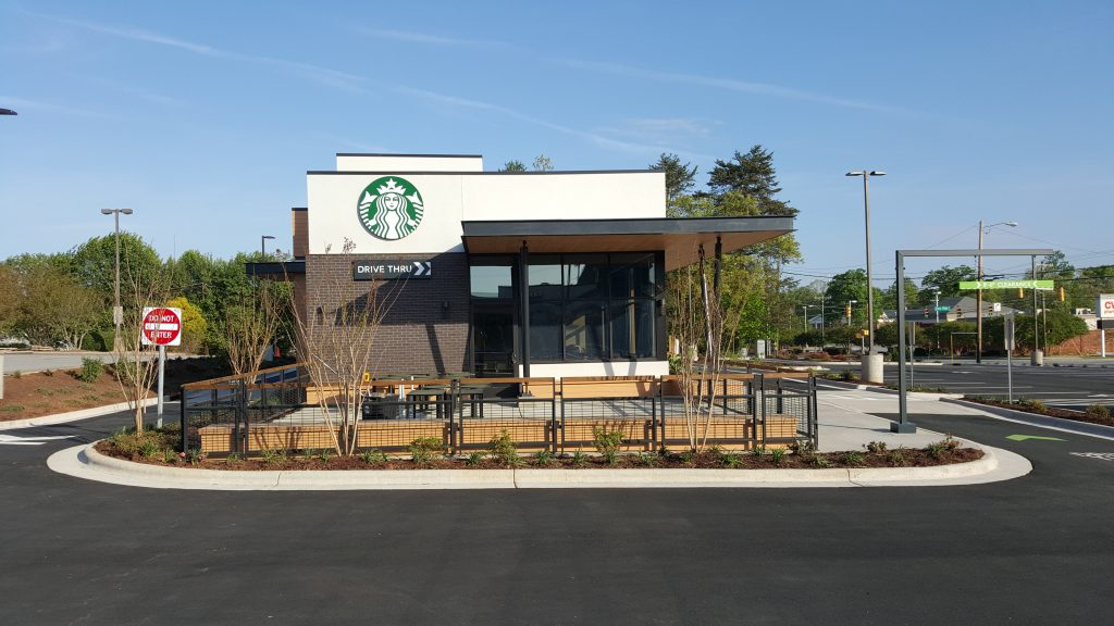 Starbuck's construction