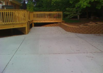 Wilhelm Deck and Driveway After
