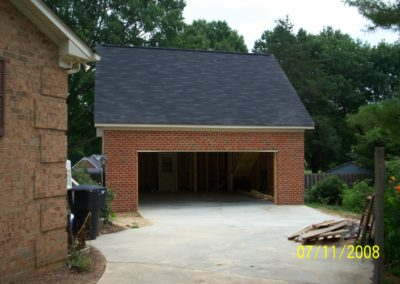 2 Car Garage Construction With Apartment Above (2)